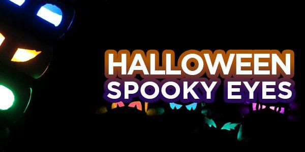 [DIY] DÉCO HALLOWEEN FLUO : Spooky eyes !