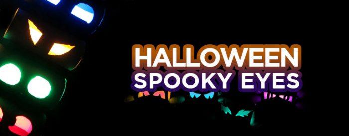 DIY deco halloween fluo