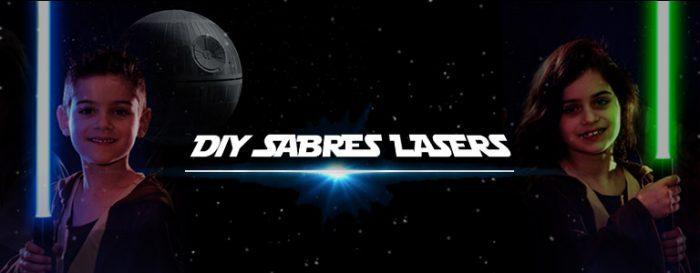 DIY fabriquer des sabres lasers lumineux