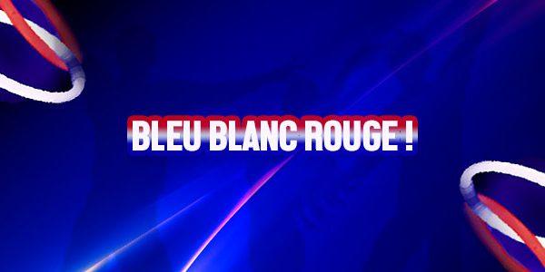 BLEU BLANC ROUGE pour le 14 JUILLET… Oui mais FLUO !