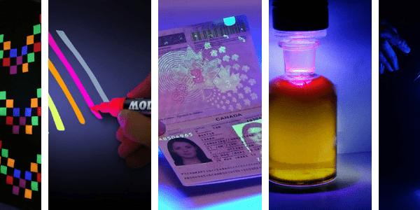 6 Objets étonnants à tester avec la lumière noire