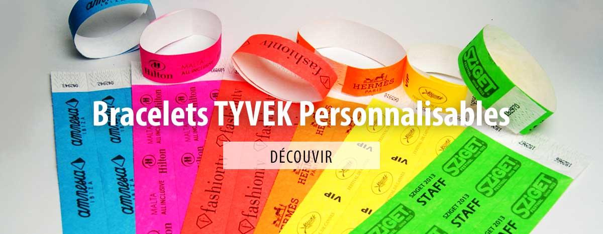 Bracelets en papier Tyvek® : contrôlez vos évènements !