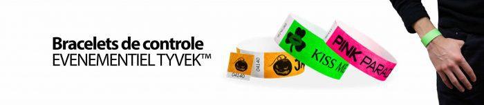 bracelets papier tyvek personnalisables avec votre logo ou texte
