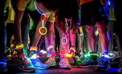 Lacets lumineux à LED