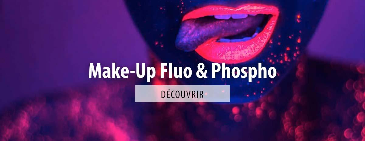 Maquillage Fluorescent ou Phosphorescent, quelle différence ?