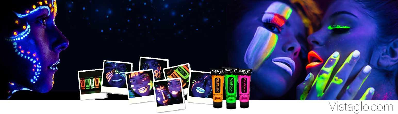 maquillage fluorescent pour votre évènement fluo