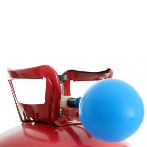 Bouteille hélium pour gonfler et faire flotter 50 ballons 23cm