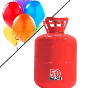 Grande Bouteille hélium 50 ballons 0,42m3