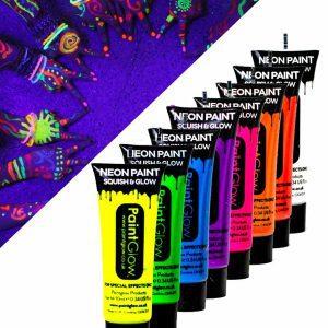 pack de maquillage fluorescent pour corps et visage