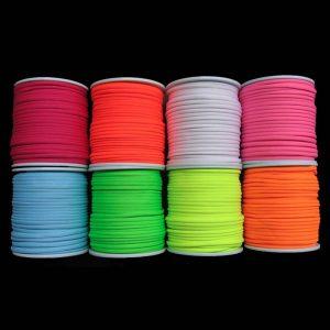 fil fluorescent couleurs bobines
